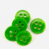 CS03 Plastic Button -  green -