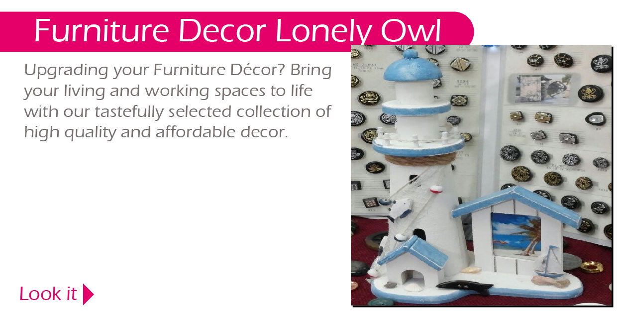 Furniture Decor Lonely Owl